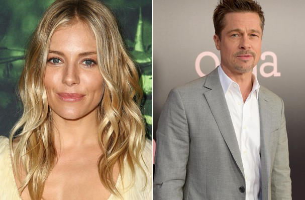 Siena Miller e Brad Pitt (Foto: Getty Images)