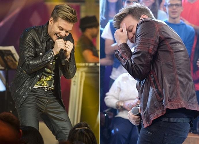 Michel Teló já emplacou diversas músicas nas paradas de sucesso (Foto: Cynthia Salles/Zé Paulo Cardeal/TV Globo)