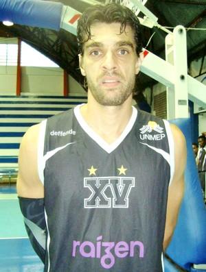 Ala Alfredo Perandini, contratado pela Liga Sorocabana LSB ao XV de Piracicaba (Foto: Divulgação / XV de Piracicaba)
