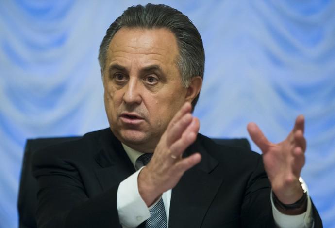 Vitaly Mutko, Ministro dos Esportes da Rússia (Foto: AP Photo/Ivan Sekretarev)