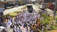 Ato 'Axé pela democracia' pede fim da intolerância religiosa e percorre Santa Luzia