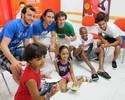 Jogadores do Peixe prestigiam evento beneficente em Santos