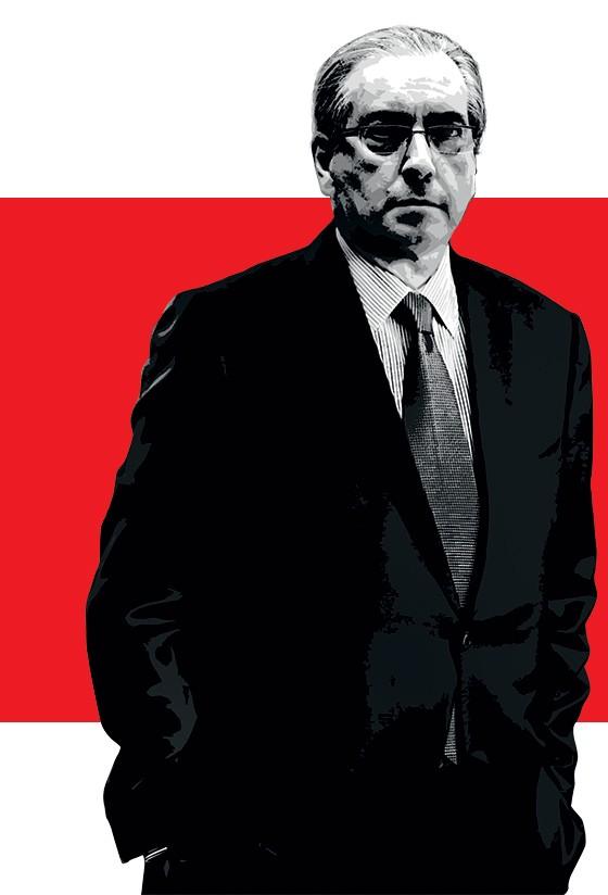 CALMA O presidente da Câmara, Eduardo Cunha. Ele está sereno porque sabe que tem um exército para defendê-lo (Foto: Adriano Machado/ÉPOCA)