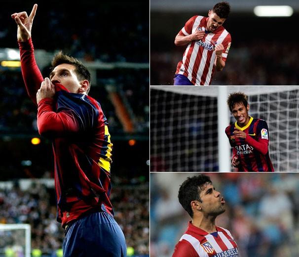 Barcelona Atlético de Madri (Foto: divulgação / reprodução)
