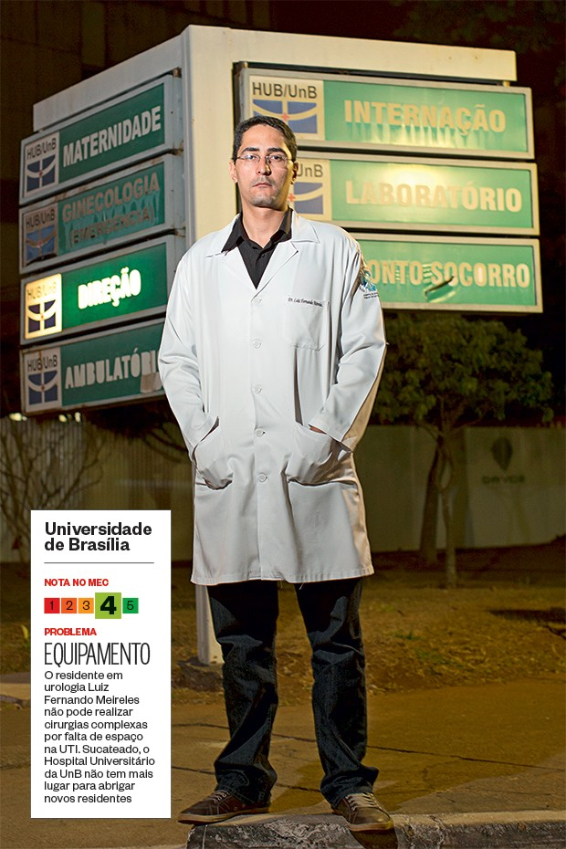 Universidade de Brasília (Foto: Igo Estrela/ÉPOCA)