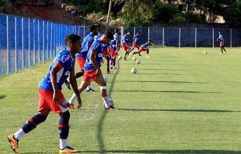 Elenco sub-20 treina, e Aroldo Moreira divulga lista de relacionados para final
