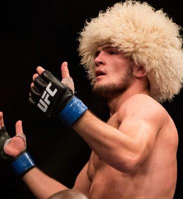 UFC Khabib Nurmagomedov e Pat Healy - NÃO USAR NO SPORTV (Foto: Agência AP)