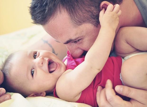 menina; pai; amor (Foto: Thinkstock)