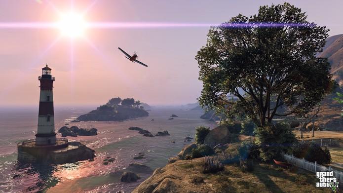 Códigos GTA 5: entre em modo de queda-livre no Xbox 360, PS4, PS3 e Xbox One (Foto: Divulgação/Rockstar)