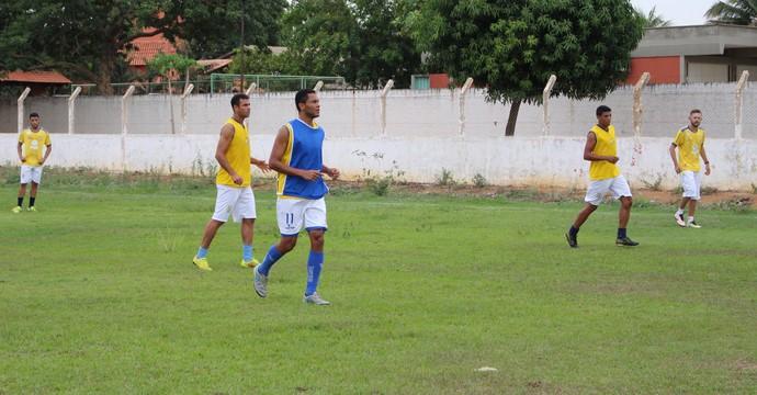 Moacri volta ao time titular em jogo contra o Guaraí, neste sábado (29) (Foto: Nelio Soares/GloboEsporte.com)
