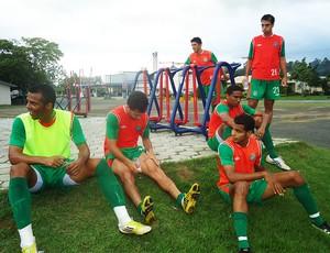 chapecoense treino nova veneza (Foto: Aguante Comunicação/Chapecoense)
