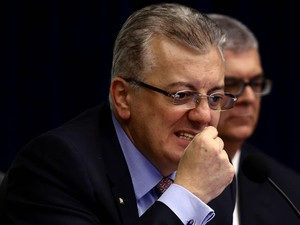 Presidente da Petrobras, Aldemir Bendine, explica balanço (Foto: Wilton Junior/Estadão Conteúdo)