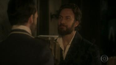 Francisco avisa a Thomas que o plano dele deu certo