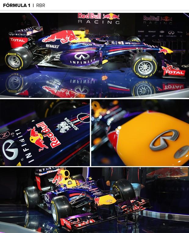 fórmula 1 lançamento 2013 mosaico 02 (Foto: Getty Images)