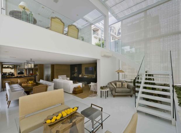O apartamento Firenzi, no Itaim Bibi, em São Paulo, tem 400 m² e hospeda até 6 pessoas (Foto: Divulgação)