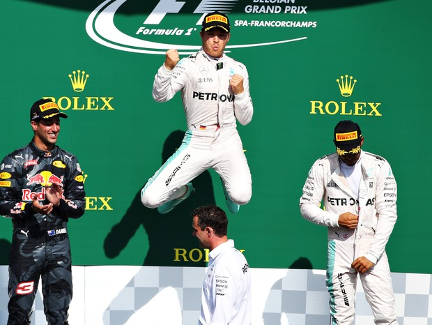 Nico Rosberg vence GP da Bélgica 2016 (Foto: getty images)