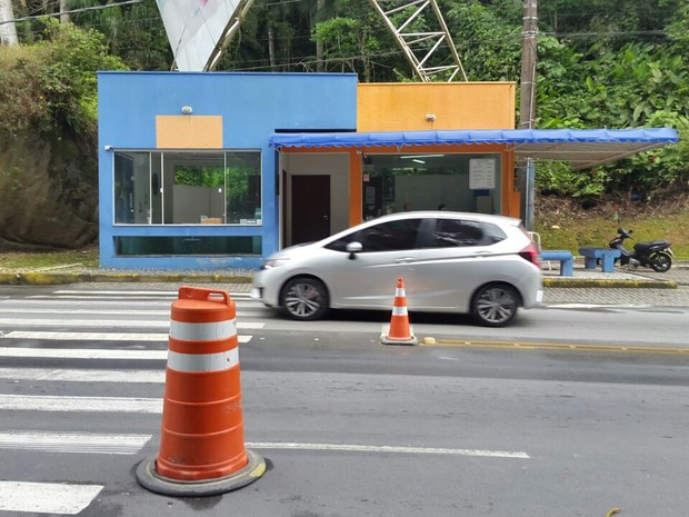 TPA de Bombinhas (Foto: Luiz Souza/RBS TV)