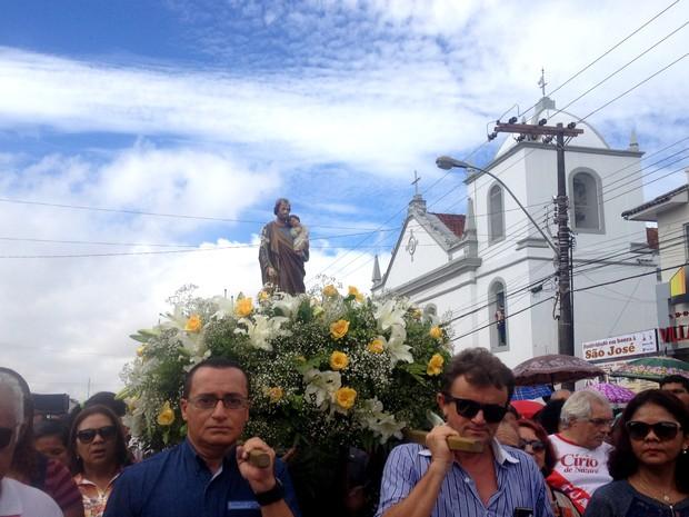 São José, Macapá, Amapá, padroeiro de Macapá, festa de são josé, (Foto: Fabiana Figueiredo/G1)