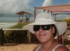 Turistas fazem 'selfies' em praias capixabas (Raquel Artem/ Arquivo pessoal)