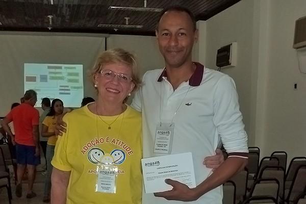 Claudio Mendonça (Coordenador do GAARFA) e Suzana Schettini (Presidente da ANGAAD) (Foto: divulgação)