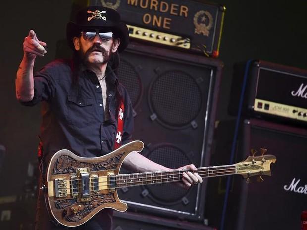 Lemmy Kilmister, líder do Motörhead (Foto: Dylan Martinez/Reuters)