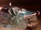 Dirigindo em 'zigue zague', homem morre após colisão frontal em rodovia