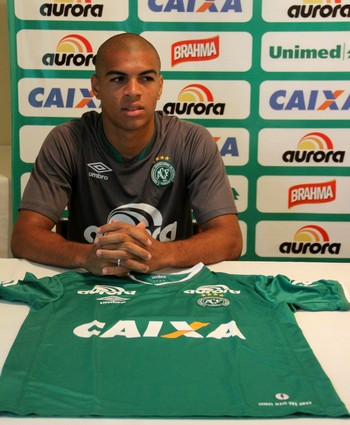 Mateus Caramelo Chapecoense (Foto: Cleberson Silva/Chapecoense)
