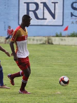 Ulisses, zagueiro, Uberaba (Foto: Rogério Moroti/Agência Botafogo)