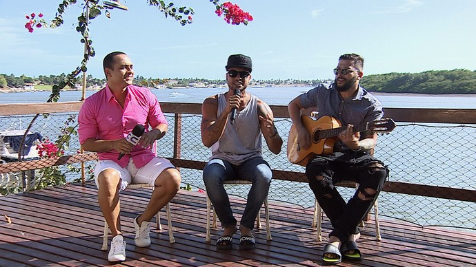 O quadro 'Levando um Som' recebe a banda Papazoni (Foto: TV Sergipe)