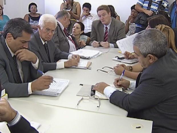 Mais uma audiência foi realizada na tarde desta quarta-feira (21) (Foto: Reprodução TV Tem)