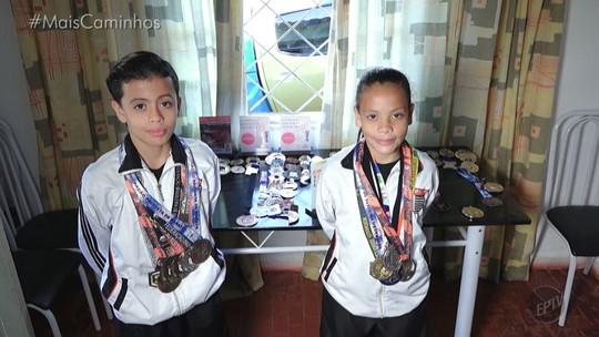Menina de 10 anos é convidada para participar do mundial de karatê no Japão