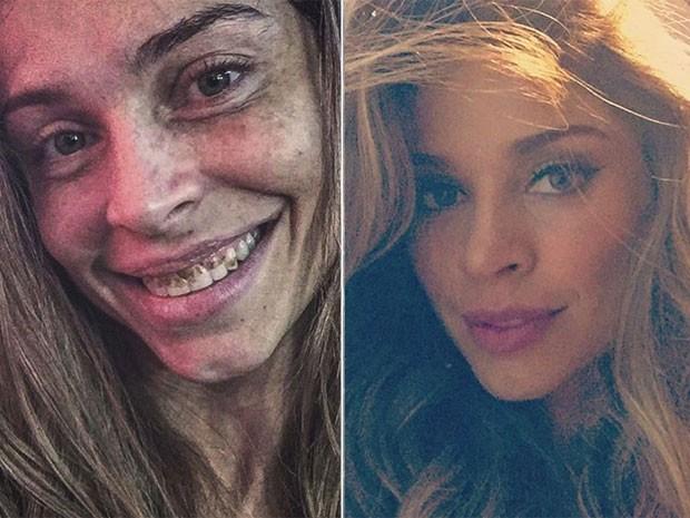 Grazi Massafera como Larissa, de Verdades secretas, e toda produzida (Foto: Instagram/ Reprodução)