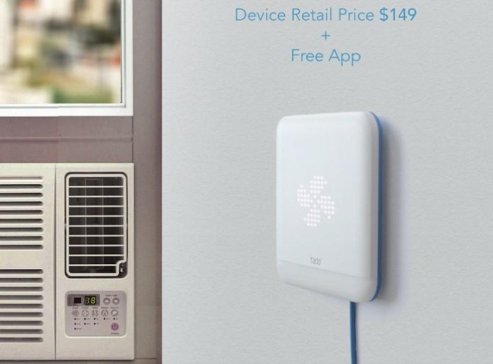Gadget promete tornar consumo de energia com ar mais inteligente (Foto: Divulgação/Tado)