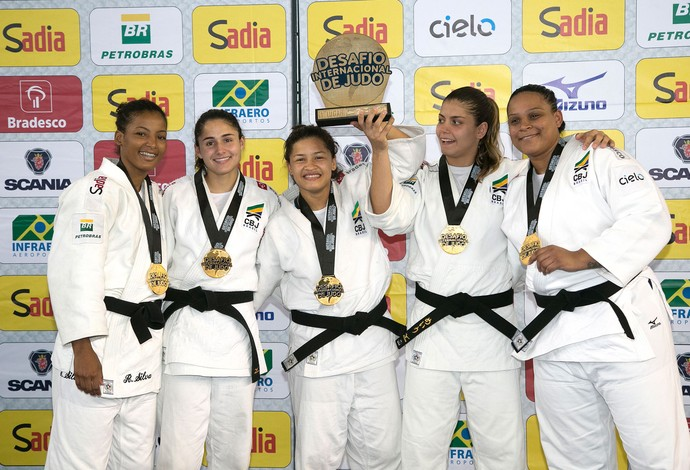 Judô Brasil Desafio internacional (Foto: Cacá Lima/CBJ)