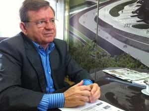Demétrio Torres, da Secopa/RN (Foto: Matheus Magalhães/GLOBOESPORTE.COM)