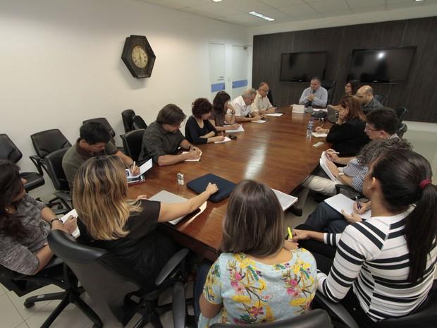 Integrantes do CDC, dos EUA, se reuniram com representantes da Secretaria de Saúde de Pernambuco (Foto: Divulgação / SES)