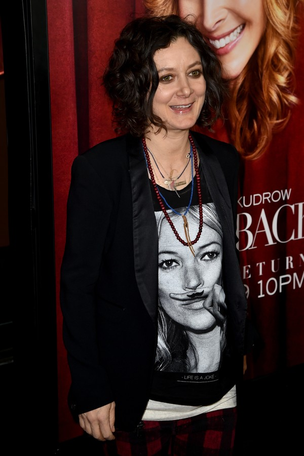 A atriz Sara Gilbert (Foto: Getty Images)