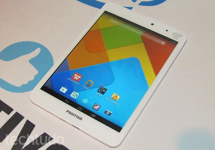 Veja o que achamos do Mini Quad, o novo tablet da Positivo (Foto: Paulo Alves/TechTudo)