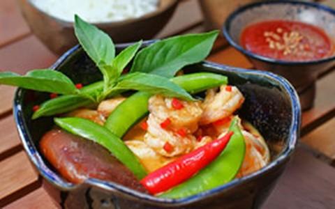 Camarão ao curry Kerala