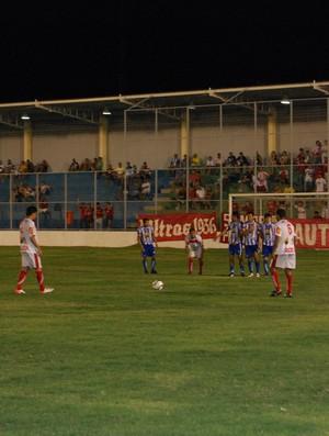 Auto Esporte x Atlético de Cajazeiras - Campeonato Paraibano (Foto: Lucas Barros / Globoesporte.com/pb)