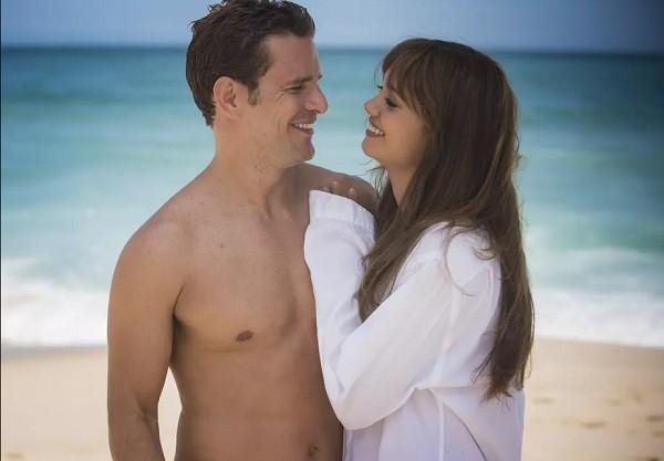 """Daniel de Oliveira e Sophie Charlotte não se encontravam na ficção desde O Rebu: """" (Foto: Reprodução/ TV Globo)"""
