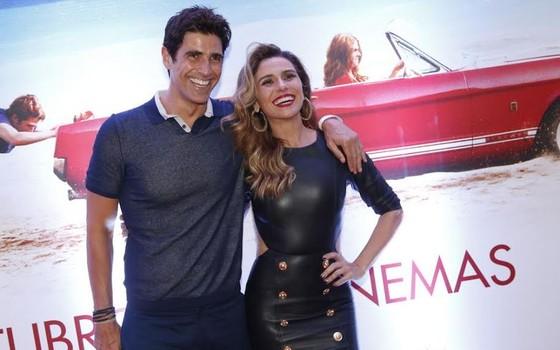 """Giovanna com Reynaldo Gianecchini, com quem já fez diversas parcerias dentro e fora das telas: """"Giane é o meu melhor amigo da vida"""" (Foto: Ag News)"""