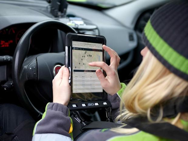 Carros se ligam à internet por dados de navegação e comunicação (Foto: Divulgação)