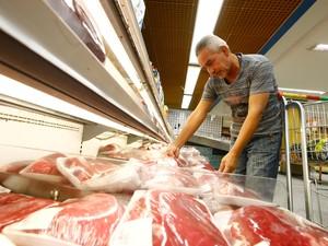 Em julho, preço médio do quilo da carne é de R$ 16 (Foto: Tarso Sarraf/ O Liberal)