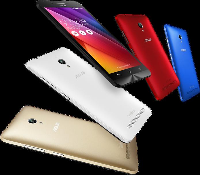 Zenfone Go é um smartphone com Android atualizado e preço baixo (Foto: Divulgação/Asus)
