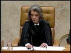 Cármen Lúcia destaca o cidadão comum ao tomar posse no STF