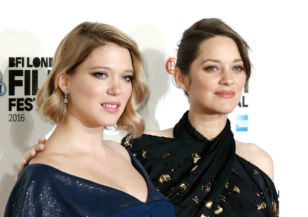 LONDON, ENGLAND - OCTOBER 14:  Lea Seydoux (L) and Marion Cotillard attend the 'It's Only The End Of The World' BFI Flare Special Presentation screening during the 60th BFI London Film Festival at Odeon Leicester Square on October 14, 2016 in London, Engl (Foto: Getty Images for BFI)