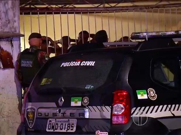 Polícia Militar foi acionada para controlar a situação (Foto: Reprodução/Inter TV Cabugi)