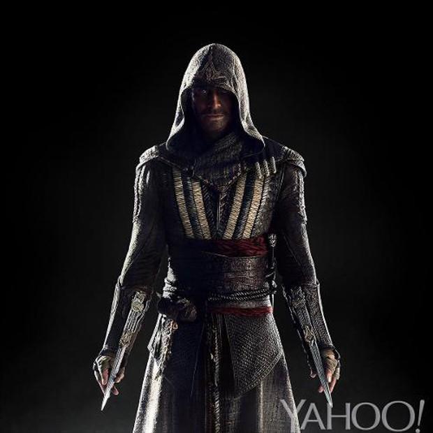Michael Fassbender interpreta assassino em filme baseado nos games 'Assassin's Creed' (Foto: Reprodução/Yahoo Movies)