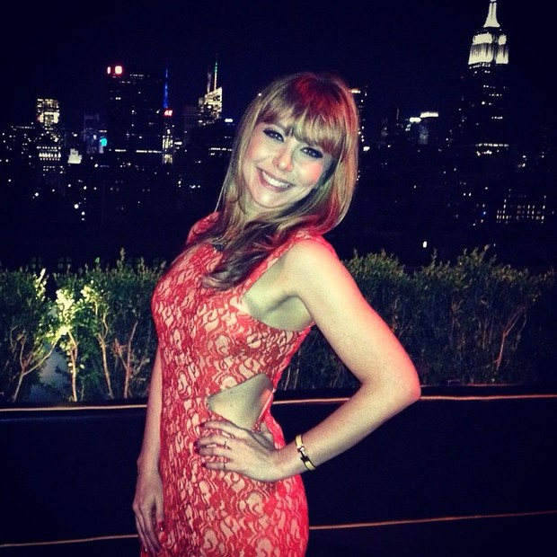 Simone Soares em festa em Nova York, nos Estados Unidos (Foto: Instagram/ Reprodução)